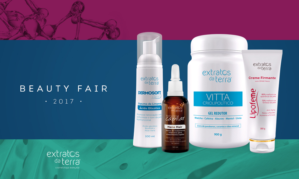 Extratos da Terra na Beauty Fair
