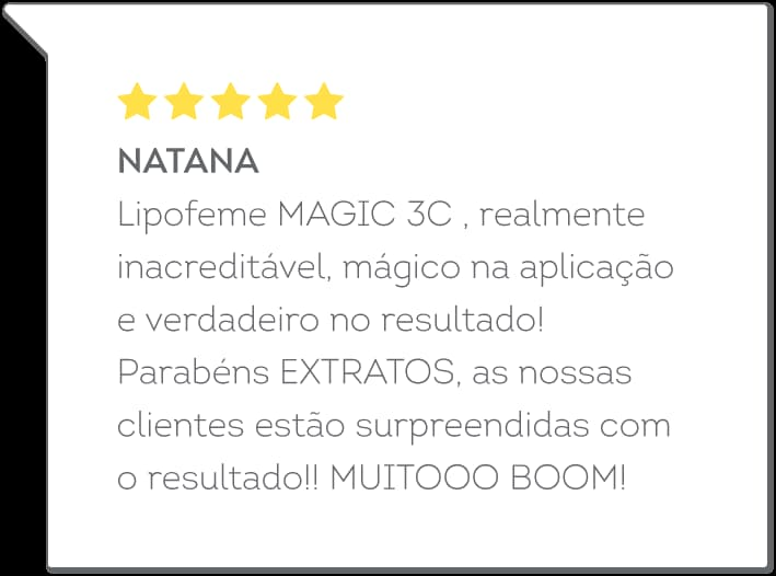 depoimento do Magic 3C - Natana