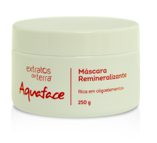 Aquaface Máscara Remineralizante 250 g
