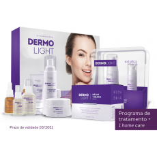 Kit Dermolight + Ampolas Microagulhamento + Home Care